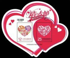 TAIWAN 2013 - Saint Valentin - BF Neuf // Mnh - Blocks & Sheetlets