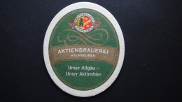 Germany - Aktienbrauerei Kaufbeuren - Unser Allgäu-unser Aktienbier - Kaufbeuren/Bayern - Bierdeckel