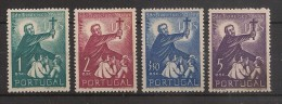 1952 Portugal Série Completa - 4º Centenário Da Morte De S. Francisco Xavier - Nova S/Marca Charneira Complete Set Mint - 1910-... Republic