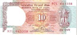 India - Pick 88e - 10 Rupees 1992 - Unc - India