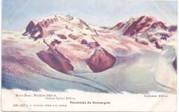 CH 3920 ZERMATT VS, Gornergrat, Mont Rose, Dufour Spitze, Ca. 1905 - VS Valais
