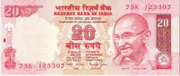 India - Pick 89A-b - 20 Rupees 2002 - Unc - Inde
