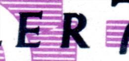 "DDR Dienstmarke Typ B  Mi-Nr. 9I, Eingekerbtes ""R"" Im 4er-Block, Gest. 31.12.1957, Los 43109"