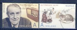 #Norway 2014. Alf Prøysen. Michel 1860-61. Used - Oblitérés