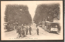 13Marseille Cours Balsunce Tres Animée - Marseille