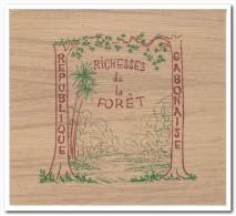 Gabon, Postfris MNH, Trees, Booklet - Gabon (1960-...)