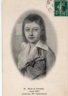 PERSONNAGE HISTORIQUE : Musée De Versailles Louis XVII , Pastel Par Mme Vigée Lebrun - Historical Famous People