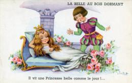 LA BELLE AU BOIS DORMANT(JIM PATT) - Fairy Tales, Popular Stories & Legends