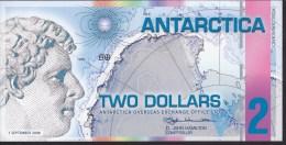 Antarctica 2 Dollar 01.09.2008 UNC - Billets