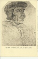 Holbein - Fitz Williams - Earl Of Southampton - Peintures & Tableaux