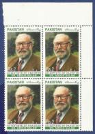 PAKISTAN MNH 1998 SCIENTISTS OF PAKISTAN.NOBEL LAUREATE DR.ABDUS SALAM PHYSICIST - Pakistan