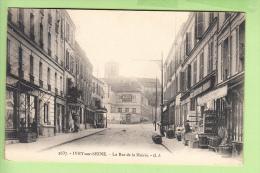 IVRY Sur SEINE - Rue De La MAIRIE - Nombreuses Devantures Exposées Et Animées - Ed. G.I.  - 2 Scans - Ivry Sur Seine