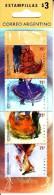 Argentina Booklet Scott #2174 Pane Of 4 Dances: Flamenco, Waltz, Zamba, Tango - Carnets