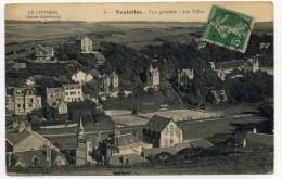 LL , 76 , VEULETTES , Vue Générale - Les Villas , Voyagée , N°5 - Autres Communes