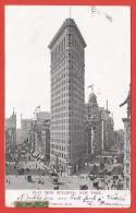 CPA États Unis - New York - Flat Iron Building - Manhattan