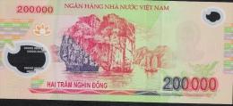 VIETNAM P123e 200.000 DONG 2010  AU-UNC - Vietnam