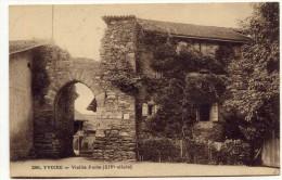 LL , 74 , YVOIRE , Vieille Porte (XIV Siècle) , Voyagée 1925 , N°121 - Yvoire