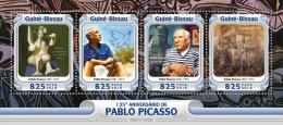 GUINEA BISSAU 2016 - Pablo Picasso. Official Issue - Picasso