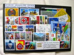 Suisse: Série Annuelle 1999 (oblitérée) - Suisse