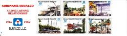 Surinam Booklet Scott #1071a Pane Of 6 80th Anniversary SURALCO - Surinam Aluminum Company - Surinam