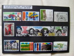 Suisse: Série Annuelle 1997 (oblitérée) - Suisse