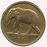 CONGO - PRINS KAREL  * 5 Frank 1947 * Prachtig * Nr 2912 - 1945-1951: Régence