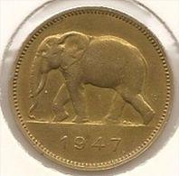 CONGO - PRINS KAREL * 2 Frank 1947 * Prachtig * Nr 2930 - Congo (Belge) & Ruanda-Urundi