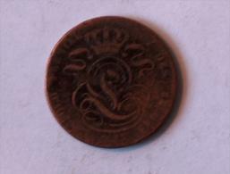 Belgique 5 Cents 1827 ? Centimes A Déterminer - Belgique