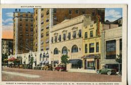 WASHINGTON  -  HARVEY' S FAMOUS RESTAURANT  -  MAYFLOWER HOTEL - Etats-Unis