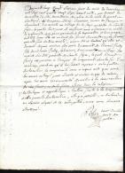 Gueret  Creuse 1787 - Déclaration  Grossesse De Marie SCEAUVEAU,  Oeuvres De Léonard Frady Qaa04 - Documents Historiques