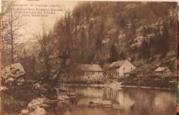 25 Les Gorges Du Doubs Aux Graviers Frontière Franco-Suisse - France