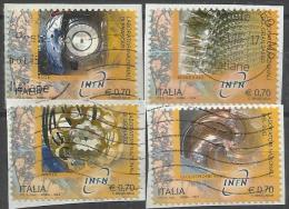 Italia 2014, Laboratori Nazionali Di Fisica Nucleare (o), Serie Completa - 6. 1946-.. Repubblica