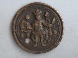 MEDAILLE 1765 FREVACQ  A IDENTIFIER Divinité Dieu Sacrifice - Jetons & Médailles