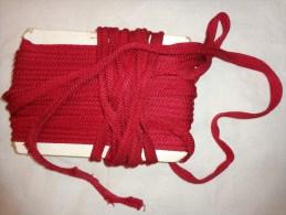 20 Metres -biais Ganse-rouge - Laces & Cloth