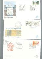 PAYS BAS Année 1981 & 1982  En FDC  (16 Env.) - FDC