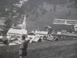 Photo Originale Haute Savoie Années 50 La Clusaz - Lieux
