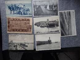 Zzbrugge - Beau Lot De 7 Cartes Postales  - Lot Van 7 Postkaarten - Circulés - Zeebrugge