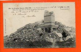 LA PANNE - La Grande Guerre 1914-1915  - Effet D'un Seul Obus De 75 Sur La Maison Espion - De Panne