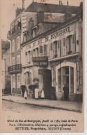 CPA 89. YONNE. JOIGNY. HOTEL DU DUC DE BOURGONE Fondéen 1732, SETTIER PROPRIETAIRE - Joigny