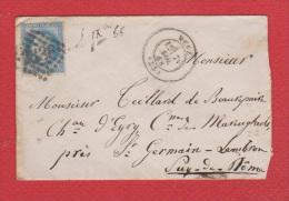 Env De Metz   -- Pour St Germain Lembron    -- 7 Nov 1868 - 1849-1876: Période Classique