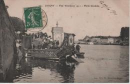 CPA 89. YONNE. JOIGNY. FETE VENITIENNE 1911 - PETITE GONDOLE. - Joigny