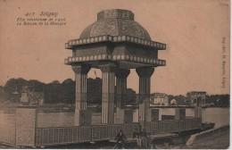 CPA 89. YONNE. JOIGNY. FETE VENITIENNE 1906 - LE BATEAU DE LA MUSIQUE. - Joigny