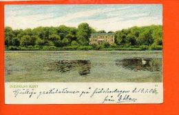 OVESHOLMS SLOTT  - Kristianstad (timbre, Oblitération) - Suède