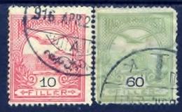 Hongarije 1900, Magyar, Hungary, Hongrie, Ungarn, SG 121, 130, Sc 55, 62, YT 46, 51 - Gebruikt