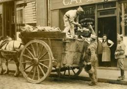 France Angers Grève Des Eboueurs Armée Requisitionnée Ancienne Photo 1937 - Professions