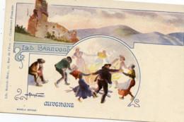 63 AUVERGNE Les Brandons Carte Précurseur Couleur Illustrée Lib.Bougé-Béal Clermont-Ferrand - Non Classificati