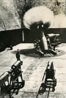 USA Tir De Mortier Instantané Canon Ancienne Photo 1939 - War, Military