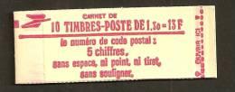 Carnet N°2059 C2a  Fermé   Cote 39 Euros  ! - Usage Courant