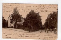 CPA/RAS368/CHAUMONT AVENUE DU VIADUC 1903 - Chaumont