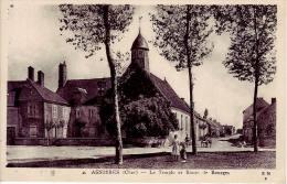 Asnieres  Le Temple Et La Route De Bourges - Frankreich